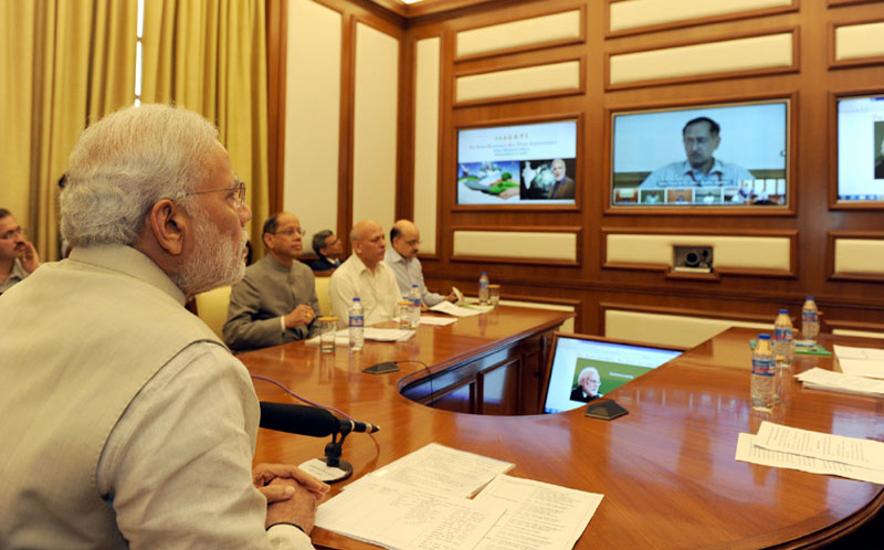 PM launches PRAGATI: a multi-purpose, multi-modal platform for Pro-Active Governance And Timely Implementation