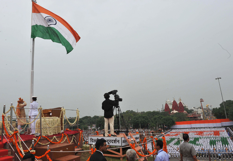 English rendering of PM's address to the Nation from the ramparts of the Red Fort on the 69th Independence Day