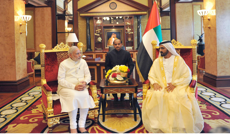 Joint Statement between the United Arab Emirates and India