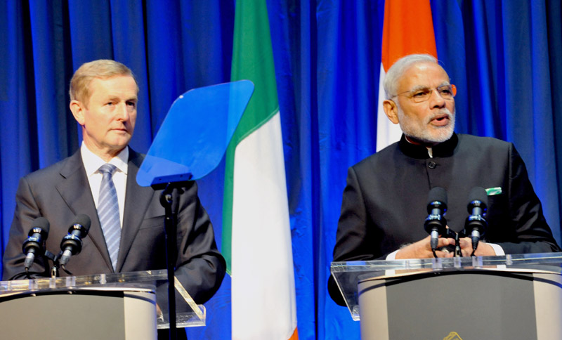 Text of the PM's statement to media at Joint Press Briefing with Prime Minister of Ireland