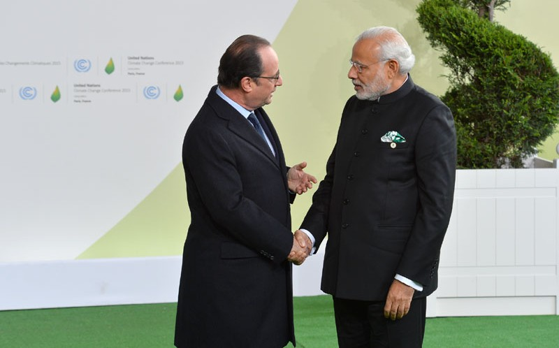 PM's address at the inauguration of the Indian Pavilion at CoP-21, Paris