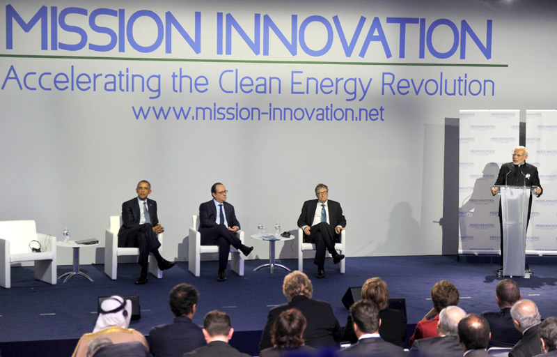 PM's speech at the 'Mission Innovation' in CoP-21, Paris