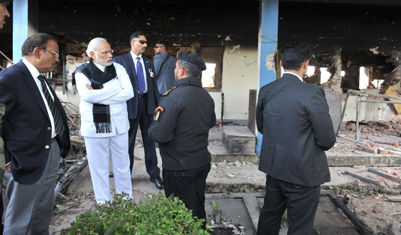 PM visits Pathankot Airbase