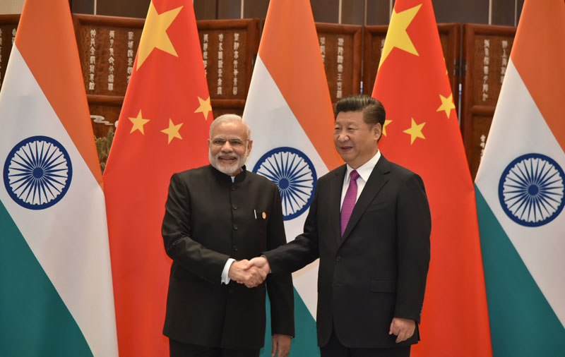 The Prime Minister, Shri Narendra Modi with the President of the People's Republic of China, Mr. Xi Jinping, during G20 Summit, in Hangzhou, China on September 04, 2016.