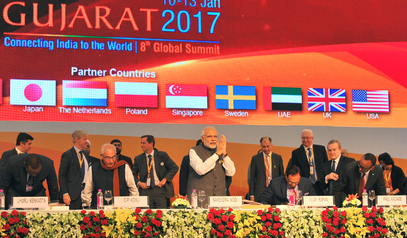 PM's address at the Inauguration Ceremony of Vibrant Gujarat Global Summit 2017