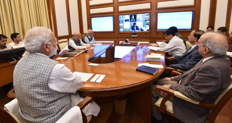 PM's eighteenth interaction through PRAGATI