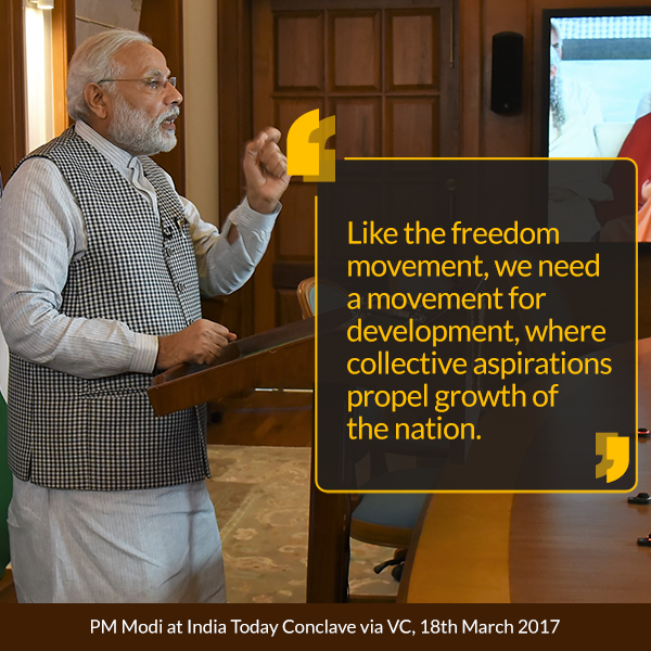 PM at India Today Conclave