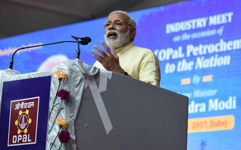 PM's address at the Industry Meet at ONGC Petro Additions Limited (OPAL), Dahej
