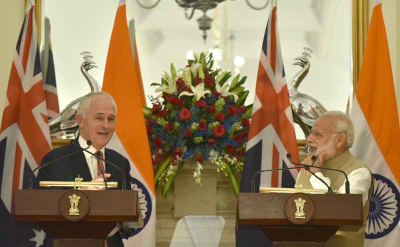 PM's press statement during the state visit of Prime Minister of Australia to India