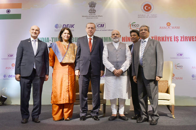PM's address at India-Turkey Business Summit