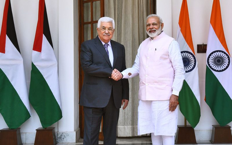 PM's Press Statement during the State Visit of President of Palestine to India