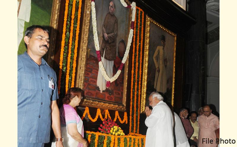 PM pays tributes to Dr. Syama Prasad Mookerjee on his Punya Tithi