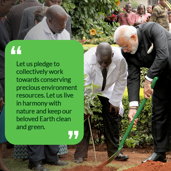 Top quotes by Prime Minister Modi on Environment   Prime Minister of