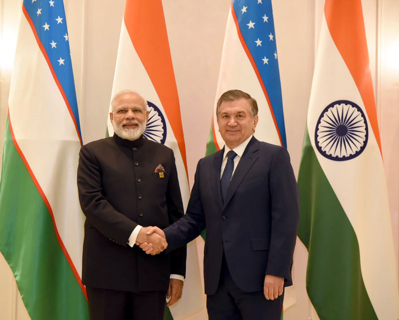 PM's bilateral meetings on the sidelines of SCO Summit in Astana