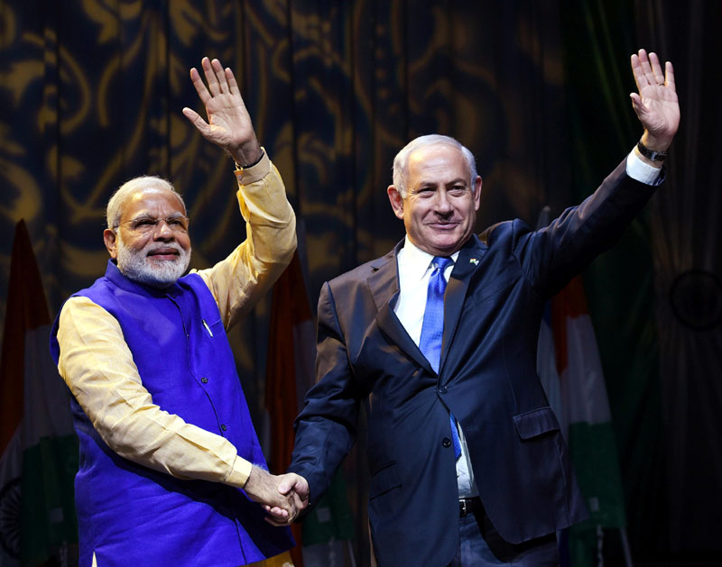 PM addresses Indian Community in Israel