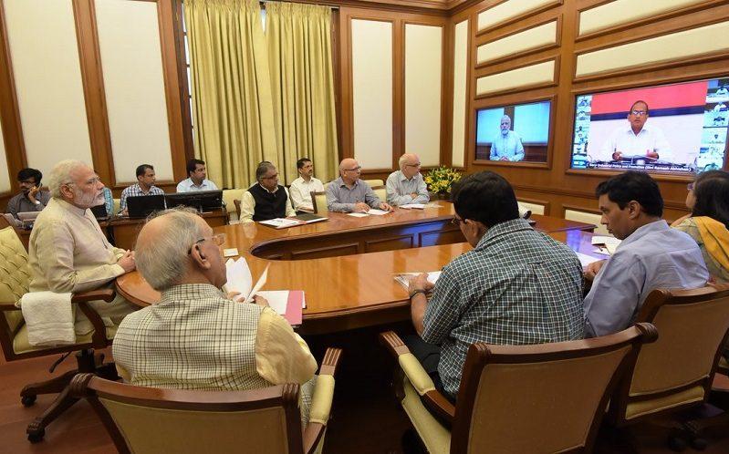 PM's twenty-first interaction through PRAGATI