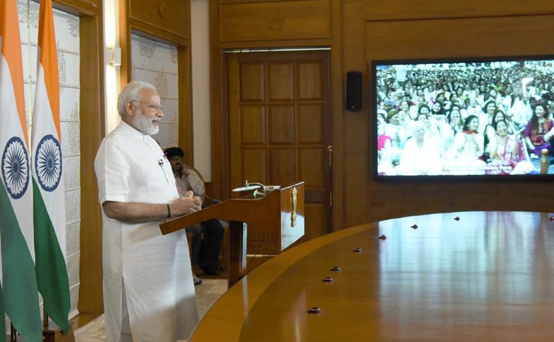प्रधानमंत्री ने वीडियो कॉन्फ्रेंस के जरिए दादा वासवानी के 99वें जन्मदिवस समारोह को संबोधित किया