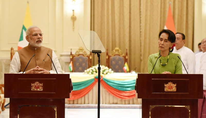 PM's statement during the joint media briefing with State Councillor of Myanmar in Nay Pyi Taw