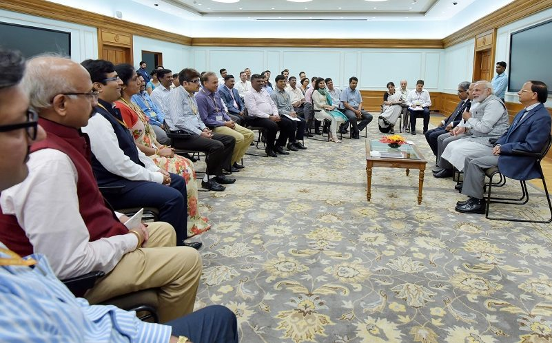PM's interactions with Directors and Deputy Secretaries