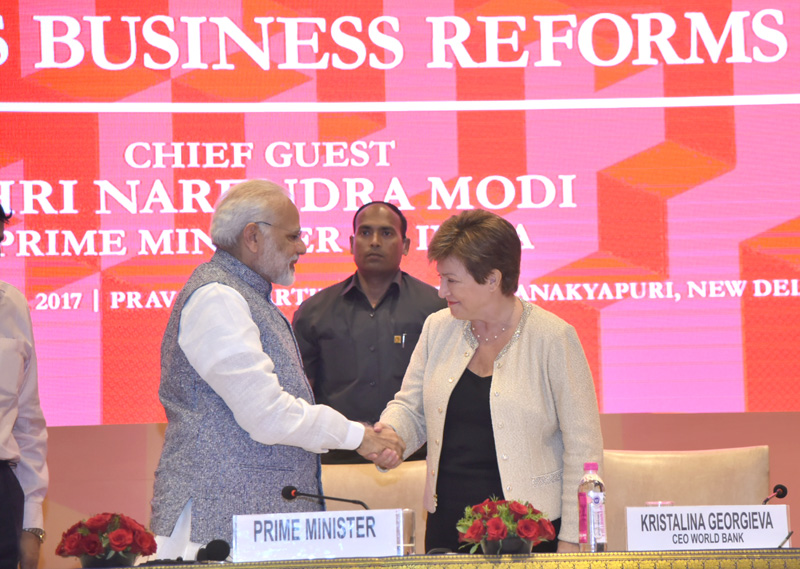 PM's address at the Ease of Doing Business event