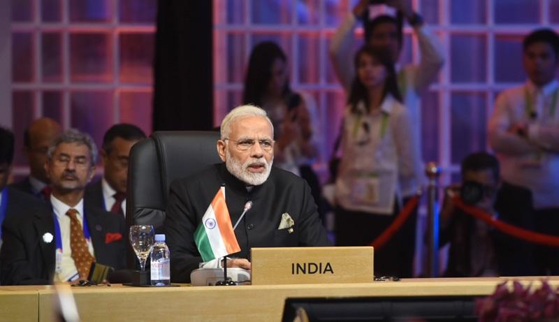 PM's Opening Statement at 15th ASEAN-India Summit, Manila