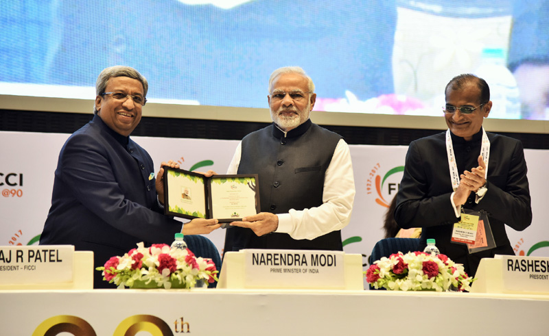 PM addresses inaugural session of 90th Annual General Meeting of FICCI