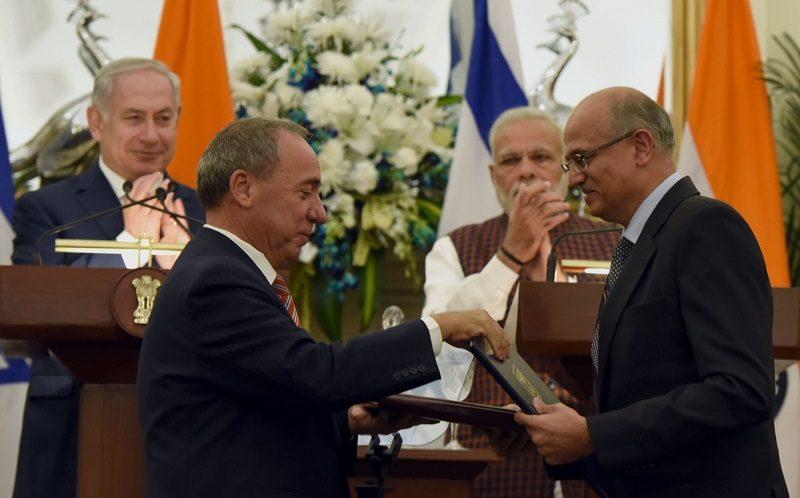 اسرائیل کے وزیراعظم کے بھارت کے دوران ہونے والے مفاہمت ناموں؍ معاہدوں کی فہرست