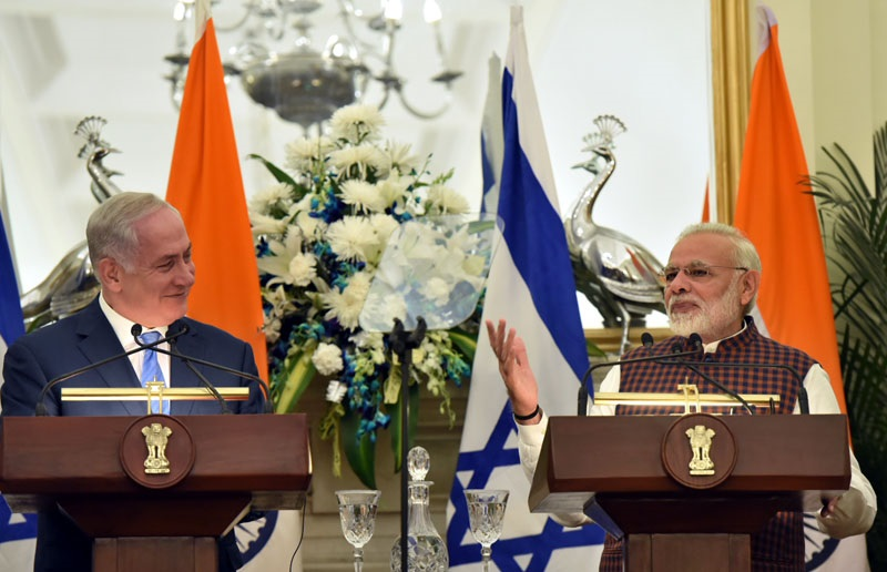 PM's Press Statement during Visit of Prime Minister of Israel to India