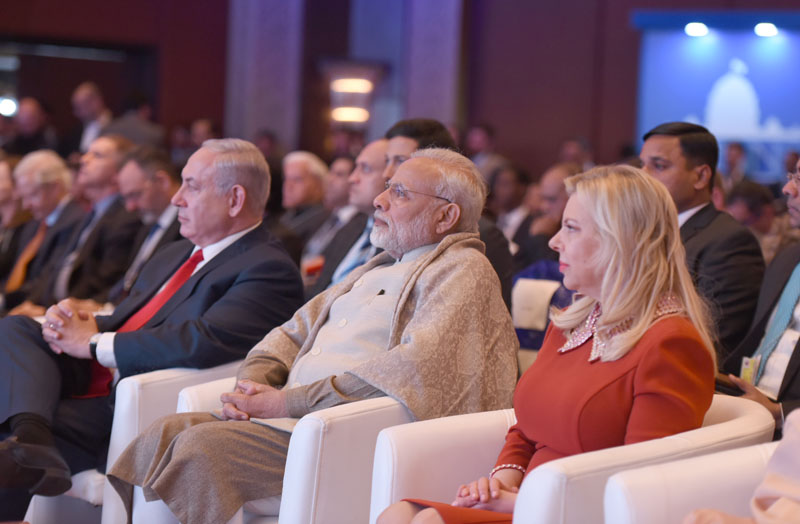 The Prime Minister, Shri Narendra Modi at the Raisina Dialogue, in New Delhi on January 16, 2018.