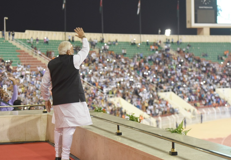 Excerpts from PM's address at Community Event in Muscat, Oman