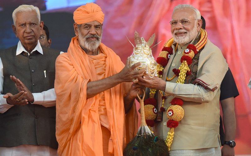 PM launches railway projects in Mysuru; inaugurates development works at Shravanabelagola