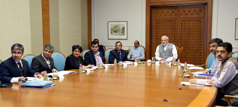 PM reviews preparations for launch of Ayushman Bharat