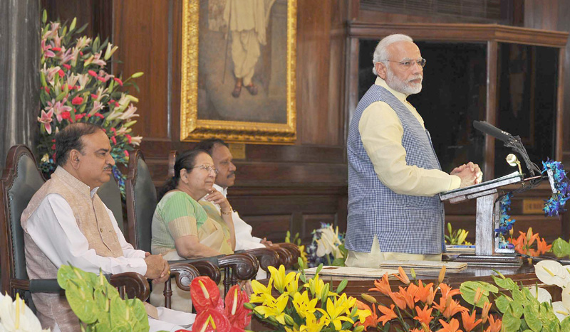 PM addresses the National Legislators Conference in Central Hall of Parliament