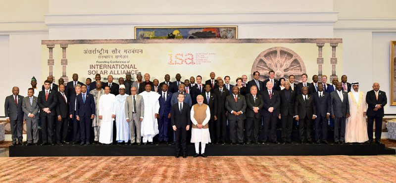 PM's address at the inaugural session of the Founding Conference of International Solar Alliance