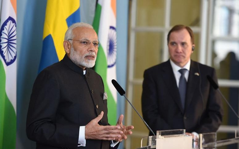 PM's Press Statement during his visit to Sweden