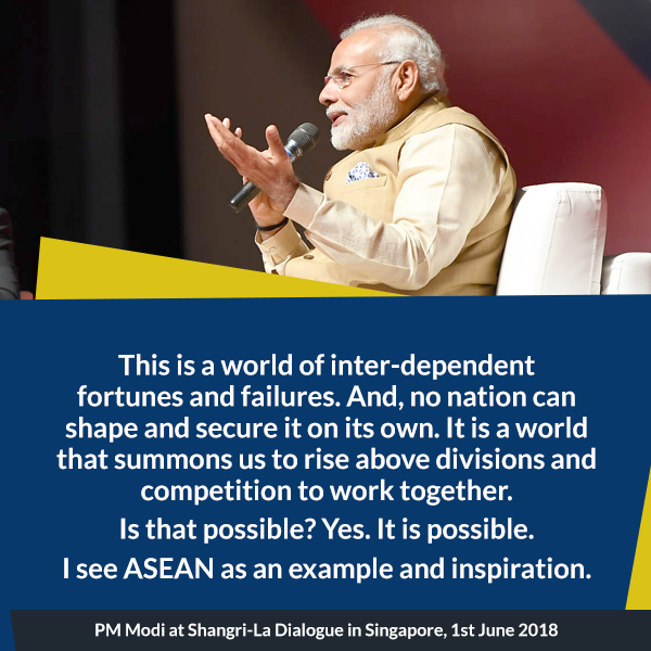 PM at Shangri-La Dialogue in Singapore