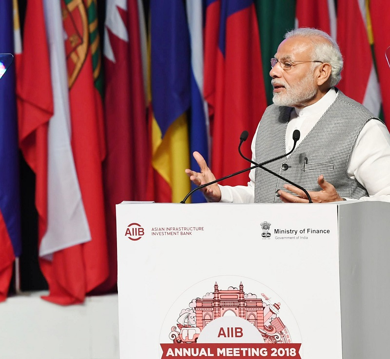 PM's address at the opening ceremony of the Third Annual Meeting of AIIB