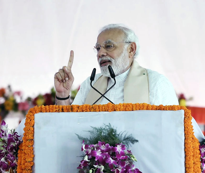 PM in Mirzapur, dedicates Bansagar Canal Project to the Nation