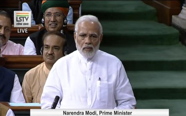 Highlights from PM's address to the Parliament on No Confidence Motion