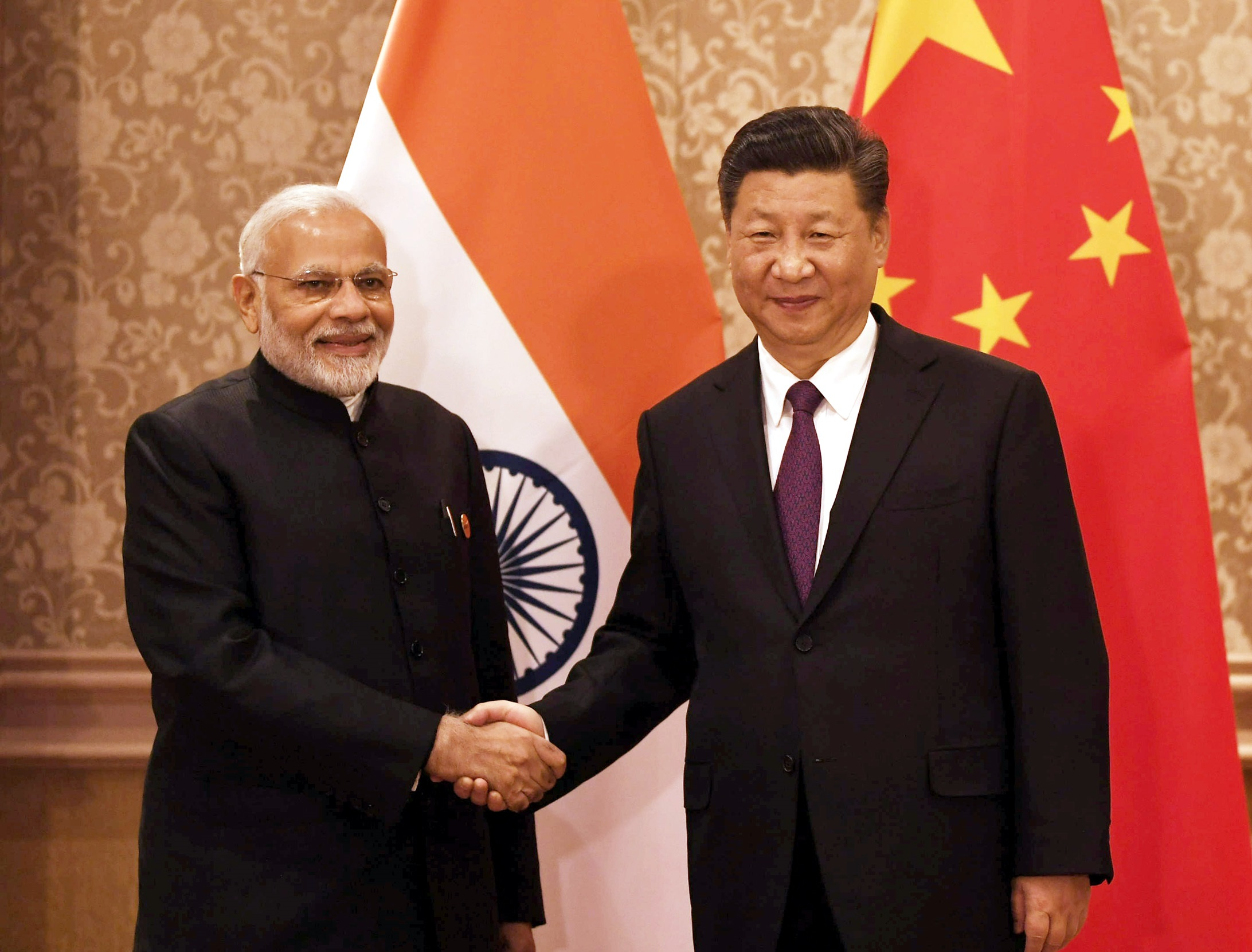The Prime Minister, Shri Narendra Modi in a bilateral meeting with the President of China, Xi Jinping, on the sidelines of the BRICS Summit, in Johannesburg, South Africa on July 26, 2018.