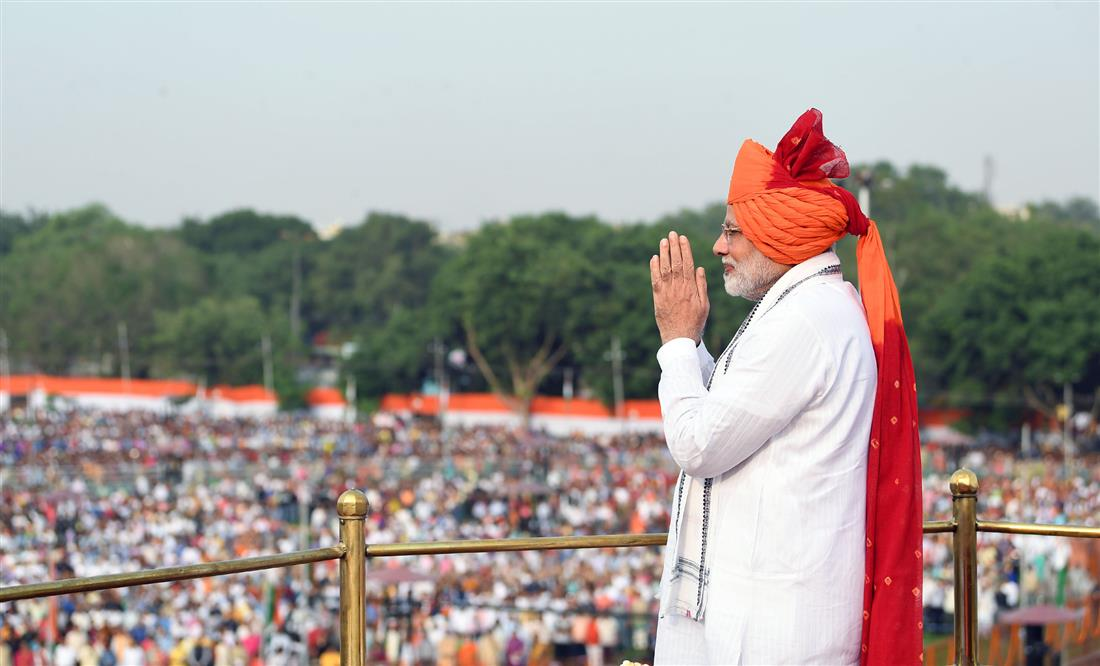 PM addresses the Nation from ramparts of Red Fort on 72nd Independence Day