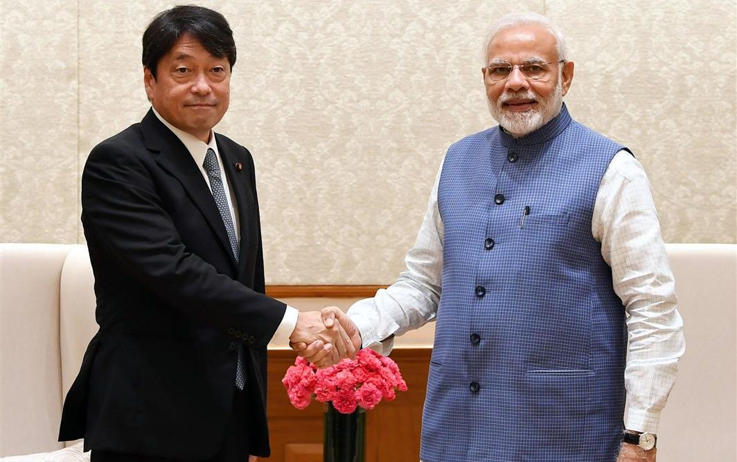 Defence Minister of Japan calls on the PM