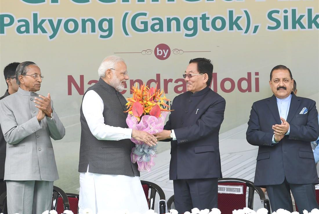 PM inaugurates Pakyong Airport, as air connectivity reaches Sikkim