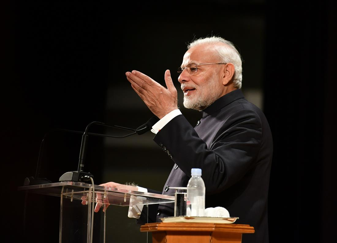 PM interacts with Indian Community in Tokyo, Japan