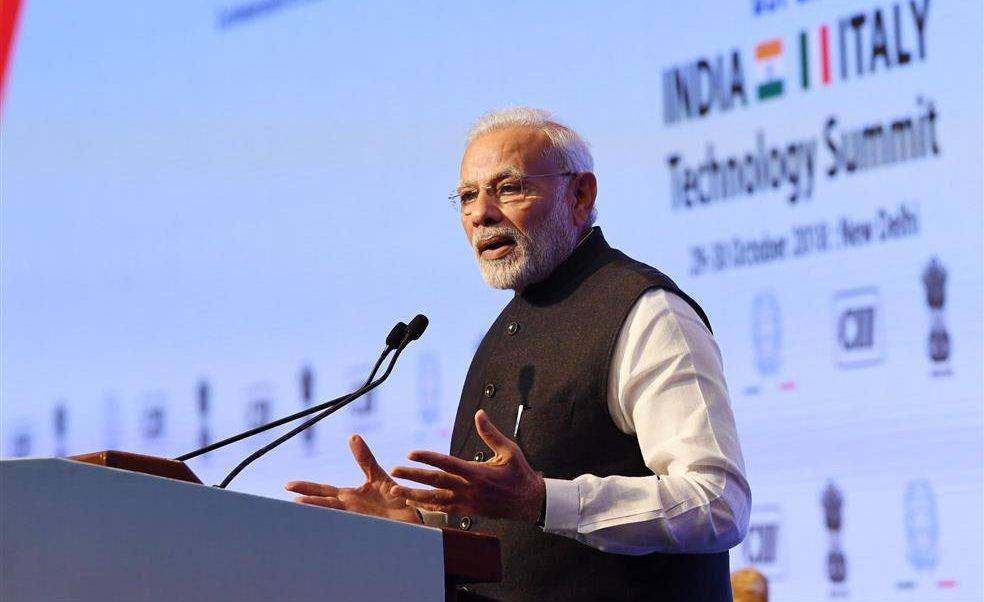 PM's address at the Valedictory Session of India-Italy Technology Summit in New Delhi