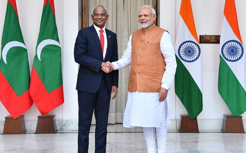Joint Statement on the occasion of State Visit of the President of the Republic of Maldives to India