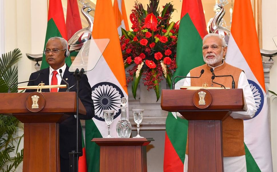 PM's Press Statement during the state visit of President of Maldives to India