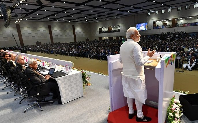 PM's address at the inauguration of 9th Vibrant Gujarat Summit 2019