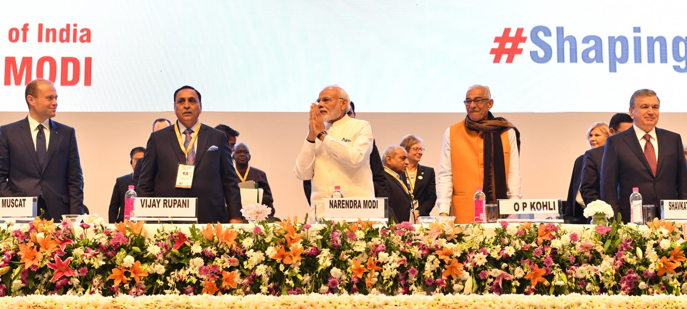 PM's address at the inauguration of 9th Vibrant Gujarat Summit 2019