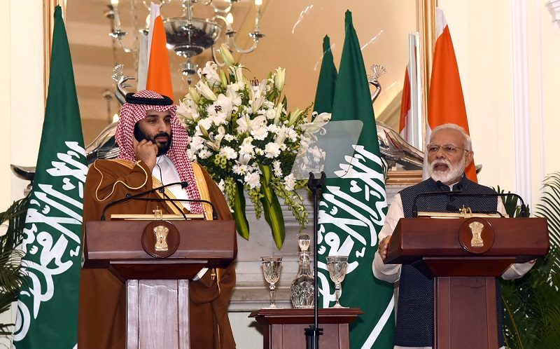 PM's Press statement during state visit of Crown Prince of Saudi Arabia to India